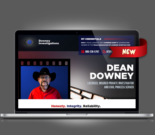 Downey Investigations - Amarillo Website Design, Amarillo Web Design, Amarillo Web Designers, Amarillo Webpage Designer