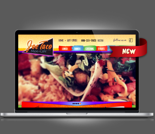 Joe Taco - Amarillo Website Design, Amarillo Web Design, Amarillo Web Designers, Amarillo Webpage Designer