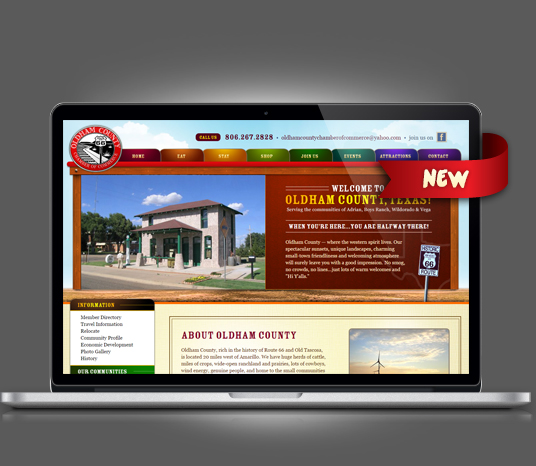 Oldham County Chamber of Commerce - Amarillo Website Design, Amarillo Web Design, Amarillo Web Designers, Amarillo Webpage Designer